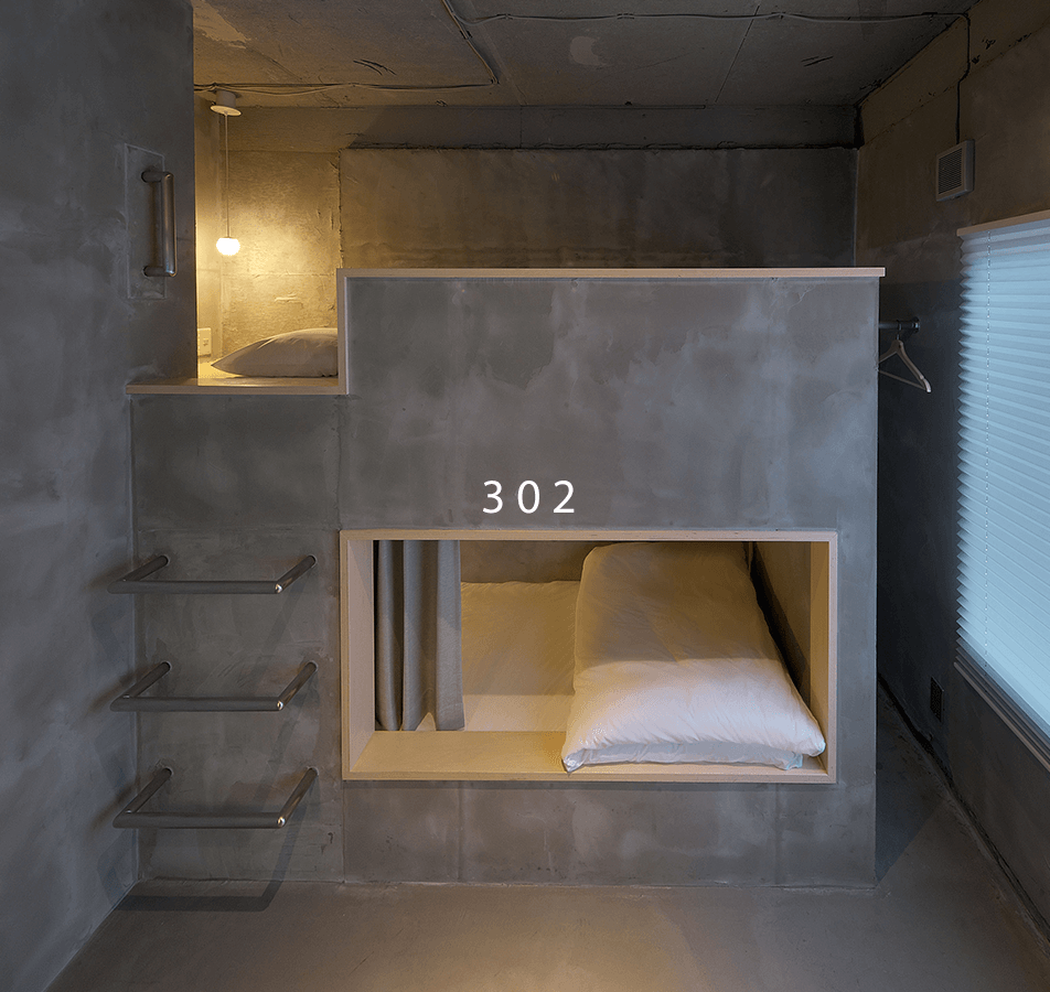 Private Twin Bunk Bed Room